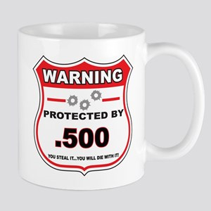protected by 500 shield Mug